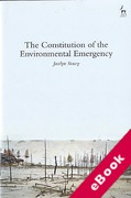 Cover of The Constitution of the Environmental Emergency (eBook)