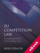 Cover of EU Competition Law: An Analytical Guide to the Leading Cases (eBook)