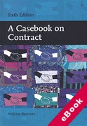 Cover of A Casebook on Contract (eBook)