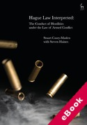 Cover of Hague Law Interpreted: The Conduct of Hostilities under the Law of Armed Conflic (eBook)
