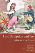 Cover of Lord Sumption and the Limits of the Law