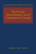 Cover of The Private International Law of Companies in Europe