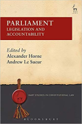 Cover of Parliament: Legislation and Accountability