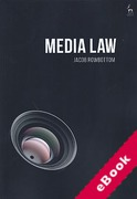 Cover of Media Law (eBook)