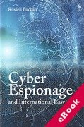 Cover of Cyber Espionage and International Law (eBook)