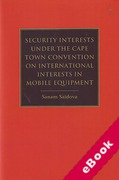 Cover of Security Interests Under the Cape Town Convention on International Interests in Mobile Equipment (eBook)