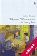 Cover of Obligation and Commitment in Family Law (eBook)