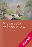 Cover of A Casebook on Labour Law (eBook)