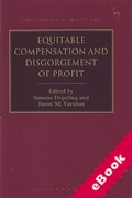Cover of Equitable Compensation and Disgorgement of Profit (eBook)