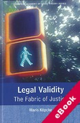 Cover of Legal Validity: The Fabric of Justice (eBook)