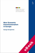 Cover of New Economic Constitutionalism in Europe (eBook)