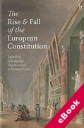 Cover of The Rise and Fall of the European Constitution (eBook)