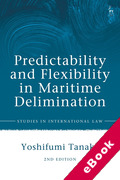 Cover of Predictability and Flexibility in the Law of Maritime Delimitation (eBook)