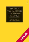 Cover of Secured Transactions Law Reform in Africa (eBook)
