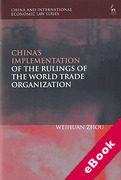 Cover of China's Implementation of the Rulings of the World Trade Organisation (eBook)