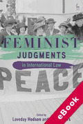 Cover of Feminist Judgments in International Law (eBook)