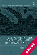 Cover of Citizenship, Crime and Community in the European Union (eBook)