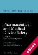 Cover of Pharmaceutical and Medical Device Safety: A Study in Public and Private Regulation (eBook)