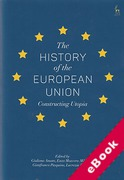 Cover of The History of the European Union: Constructing Utopia (eBook)