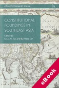 Cover of Constitutional Foundings in Southeast Asia (eBook)