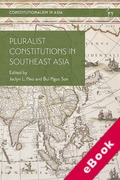 Cover of Pluralist Constitutions in Southeast Asia (eBook)