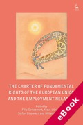 Cover of The Charter of Fundamental Rights of the European Union and the Employment Relation (eBook)