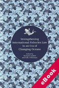 Cover of Strengthening International Fisheries Law in an Era of Changing Oceans (eBook)