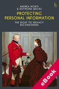 Cover of Protecting Personal Information: The Right to Privacy Reconsidered (eBook)