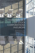 Cover of Transparency of Stock Corporations in Europe: Rationales, Limitations and Perspectives