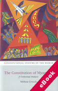 Cover of The Constitution of Myanmar (eBook)