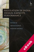 Cover of Regulation in India: Design, Capacity, Performance (eBook)