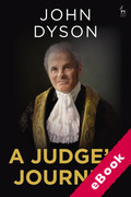 Cover of A Judge's Journey (eBook)