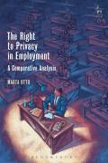 Cover of The Right to Privacy in Employment: A Comparative Analysis