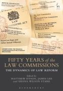 Cover of Fifty Years of the Law Commissions: The Dynamics of Law Reform