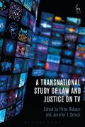 Cover of A Transnational Study of Law and Justice on TV