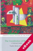 Cover of The Constitution of Brazil: A Contextual Analysis (eBook)