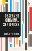 Cover of Deserved Criminal Sentences