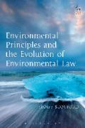 Cover of Environmental Principles and the Evolution of Environmental Law