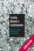 Cover of Founding Moments in Constitutionalism (eBook)