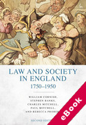 Cover of Law and Society in England 1750-1950 (eBook)