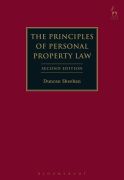 Cover of The Principles of Personal Property Law