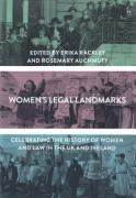 Cover of Women's Legal Landmarks: Celebrating the history of women and law in the UK and Ireland