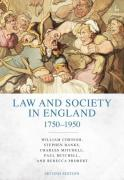 Cover of Law and Society in England 1750-1950