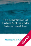 Cover of The Readmission of Asylum Seekers under International Law (eBook)