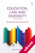 Cover of Education, Law and Diversity: Schooling for One and All? (eBook)