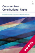 Cover of Common Law Constitutional Rights (eBook)