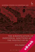 Cover of The Juridification of Individual Sanctions and the Politics of EU Law (eBook)