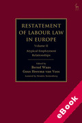 Cover of Restatement of Labour Law in Europe: Volume 2 Atypical Employment Relationships (eBook)