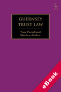 Cover of Guernsey Trust Law (eBook)