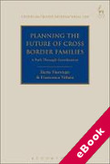 Cover of Planning the Future of Cross Border Families: A Path Through Coordination (eBook)